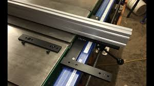 1030 Euro Ii Sliding Table Saw Fence 1 Of 5 Youtube