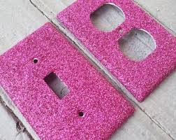 Pink Outlet Covers Etsy