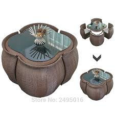 5 pcs patio furniture dining set