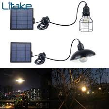 solar powered shed light pendant