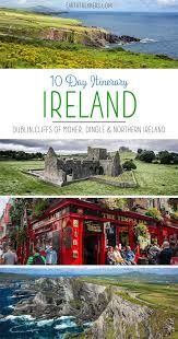 10 day ireland itinerary the ultimate