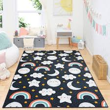 Mohawk Home Prismatic Celestial Sleep Navy Contemporary Theme Kids Precision Printed Area Rug 5 X7 Navy Walmart Com Mohawk Home Cloud Rug Area Rugs
