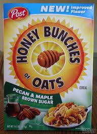 pecan maple brown sugar honey bunches