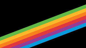 herie rainbow stripe stock wallpaper