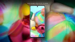 تحميل خلفيات سامسونج Galaxy A71 الأصلية صور عالية الجودة بدقة Fhd