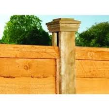 90 X 90mm X 2 4m Wickes Co Uk Wooden Fence Posts Front Courtyard Timber Fencing