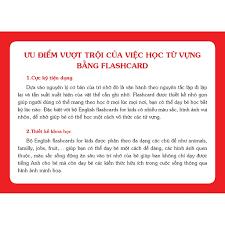 Sách - English Flashcards for kids (Bộ thẻ Tiếng Anh)- Dạy Trẻ ...