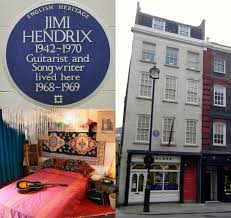 """The flat at 23 Brook Street in London was Hendrix's """"first real ..."""