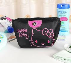 black o kitty makeup bag saubhaya makeup
