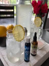 homemade electrolyte lemonade diy