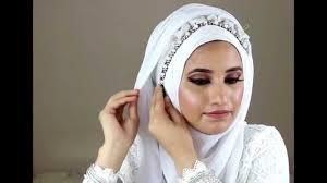simple bridal hijab tutorial you
