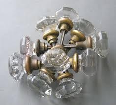 door knobs antique 8 point
