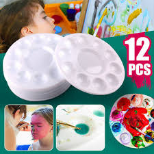 washable paint mixing tray palettes