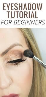 eyeshadow tutorial for beginners step