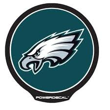 Philadelphia Eagles Power Decal Fan Treasures