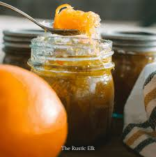 orange marmalade the rustic elk