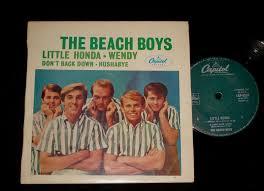 beach boys 1960s surf ep little honda