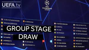 UEFA CHAMPIONS LEAGUE 2018/19 GROUP STAGE DRAW - YouTube