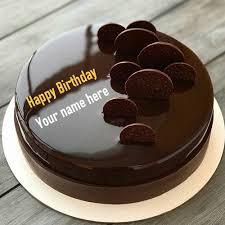 chocolate cake for birthday wishes