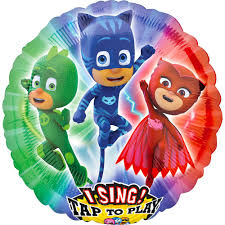 Singing PJ Masks Balloon 28in | Party City