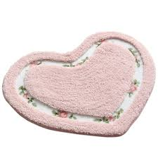 fl pattern and heart shape non slip
