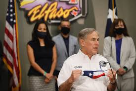 Gov. Greg Abbott gives COVID-19 update in Lubbock before to El Paso