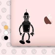 Bender Bender Decal Bender Sticker Robot Bender Futurama Bender Bender Robot Bender Vinyl Robot Decal Futurama Robot Sticker B Etsy Handmade Creative