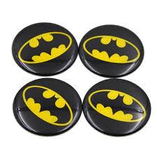 4pcsthe Dark Knight Batman Logo Car Covers Auto Steering Wheel Center Hub Cap Emblem Badge Decal Symbol Stickers 56mm Wish