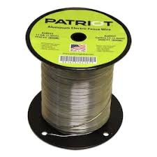 Field Guardian Field Guardian 14 Ga Aluminum Wire 1 2 Mile In The Electric Fence Wire Tape Department At Lowes Com