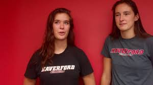 2016 Volleyball Preview with Abby Keller '17 and Valentine Courouble 17 -  YouTube