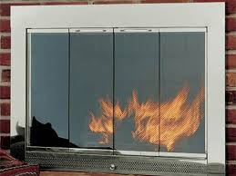 benefits of fireplace glass doors