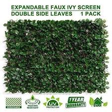 70 Off Expandable Faux Privacy Fence Jolianao In 2020 Natural Landscaping Privacy Fence Privacy Fence Screen