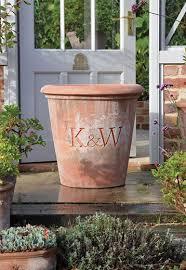 beautiful large bespoke terracotta pots