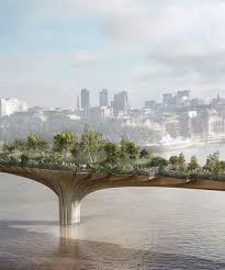 heatherwick designed garden bridge in