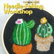 needle felting work for s