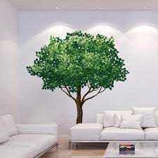 Brewster 110 2 In X 39 4 In Tree Wall Decal Cr 81125 The Home Depot