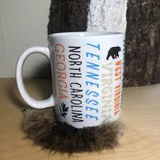Appalachian Trail States Mug Thru Hike Mug Coffee Cup Etsy