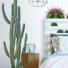 Cactus Wall Decal Wayfair