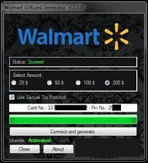 walmart gift card generator get unused