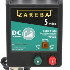 Zareba 5 Miles Battery Operated Solid State Fence Charger Edc5m Z The Home Depot