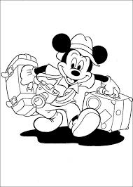 Mickey Mouse Kleurplaten 1