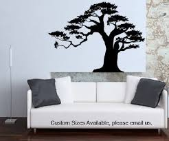 Amazon Com Vinyl Wall Decal Sticker Bonsai Tree Size 21inx29in Item Ac150s Home Kitchen