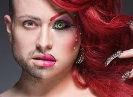 drag queen eye makeup cat eye makeup