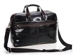 men leather briefcase men business bag