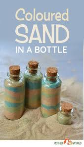 sand in a bottle so simple and so fun