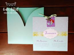 Invitacion Para Primer Ano De La Princesa Ariel La Sirenita 38