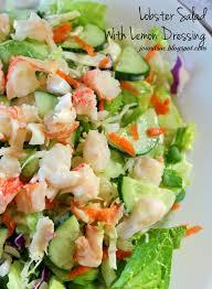 Lobster Salad With Lemon Dressing ...