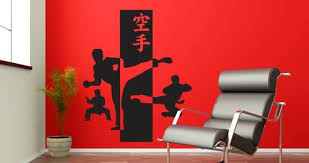 Karate Wall Stickers Dezign With A Z