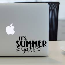 It S Summer Y All Decal Summer Decal Beach Decal Etsy