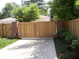 Rusticfences Com Wood Fencing Wood Fence With Electric Gate Opener Wood Fence Rustic Fence Garden Entrance